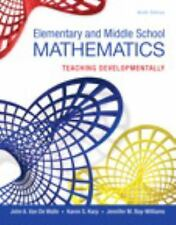 Elementary and Middle School Mathematics: Teaching Developmentally, Enhanced Pea