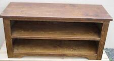 SOLID WOOD RUSTIC PLANK PINE tv stand cabinet entertainment unit any size made
