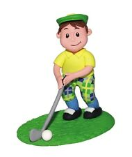 Culpitt GOLFER Claydough Instant Cake Topper Decoration Sports Party Figureine