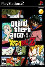 "PS2 ""GTA DRAGON BALL Z  "" GAME DISK / CD FOR UNLOCKED CONSOLE"