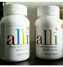 Alli Orlistat Weight Loss 240 Caps NEW Factory Sealed Bottle retails over $160