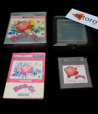 KIRBY'S DREAM LAND Hoshi No Kirby GAME BOY GB gameboy COMPLETO Japones