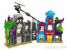 Fisher Price Imaginext DC Super Hero Flight City Batman Superman Playset NEW