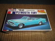 JO-HAN 1/25 '62 PLYMOUTH FURY CONVERTIBLE USA OLDIES FACTORY SEALED