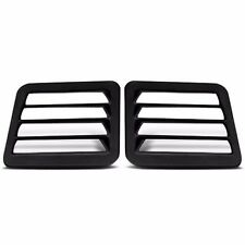 ABS Rear Van Louvers Dodge Full Size Van / Ram Van 1978-2005 - Pop-Out Glass