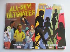 LOT OF 2 MARVEL ALL NEW ULTIMATES VOL 1,2 TPB'S 2014 SPIDER-MAN