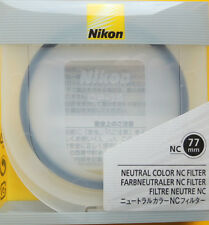 Nikon 77mm Neutral Color NC Filter Genuine Nikon 77mmNC