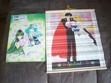Pretty Soldier Sailor Moon orig. illustration artBook Naoko Takeuchi & Tapestry