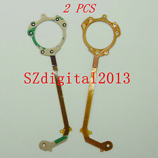 2PCS/ NEW Lens Shutter Flex Cable For Pentax Optio H90 i-10 I10 Digital Camera