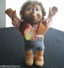"❤VINTAGE ~STEIFF MACKI BOY~ Hedgehog 5"" ~1968-1999~ 7627/12 RARE collector item❤"