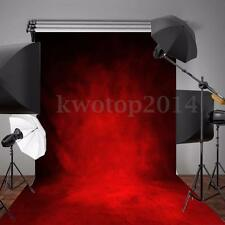 5x7FT Christmas Abstract Retro Red Backdrop Photography Background Studio Prop