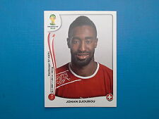 Panini World Cup Brasil 2014 n.344 Johan Djourou Switzerland