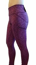 Zobha The Outsider Active Legging Yoga Pant BEET ROOT SPACE DYE XL MSRP $79 NWT