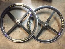 Carbon Spinergy Wheel Set With 9 Speed Dura Ace Cassette