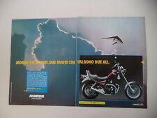 advertising Pubblicità 1990 MOTO MORINI EXCALIBUR 350