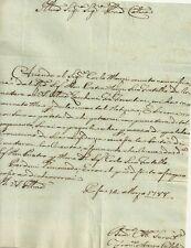 Lettera Richiesta Procaccino del Notaio Francesco Arrigo Casali in Pisa 1788