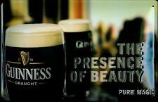 GUINNESS PRESENCE Vintage Metal Pub Sign | 3D Embossed Steel | Home Bar | Irish