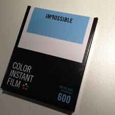 Film for per Polaroid 600 camera fotocamera, Impossible COLOR WHITE FRAME