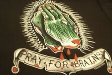 """Pray For Brains """"Sourpuss"""" - New XL Womens Fitted T-Shirt"""