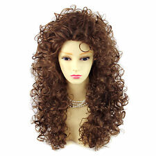 AMAZING SEXY Wild Untamed Long Curly Wig Light Brown Ladies Wigs from Wiwig UK