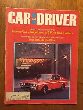 Car and Driver Magazine 1974 Mazda RX-4 1st test Corvette Ford GT40 Peter Gregg