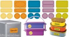Jokari Erasable Reusable 160 Labels For Every Room Home Office Craft Spice Food