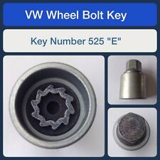 "Genuine VW Locking Wheel Bolt / Nut Key 525 ""E"""