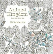 Animal Kingdom: Color Me, Draw Me by Millie Marotta Paperback Clr edition NEW
