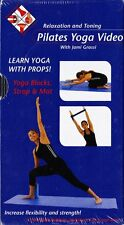 Jami Grassi Pilates Learn Yoga With Props VHS Video Tape ONLY New Sealed