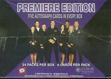 TK LEGACY JAG SEALED HOBBY BOX 5 AUTOGRAPHS PER BOX (TV SHOW)