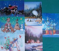 """WINTERCOUNT"" NATIVE AMERICAN ARTISTS X-MAS CARD SET #6"
