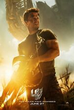 TRANSFORMERS AGE OF EXTINCTION 4 MOVIE POSTER 2 Sided ORIGINAL Ver C 27x40
