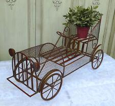 Blumenständer 70cm Oldtimer Auto Puppenwagen 0951347-a