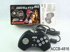 Boxed Ascii Pad FT2 SNK Ver Playstation 2 Controller PS1 Sony PS2 PS US Seller