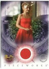 Buffy Women of Sunnydale PW-6 Pieceworks Costume Card Buffy from Inkworks 2004