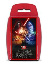TOP TRUMPS STAR WARS THE FORCE AWAKENS GAME BRAND NEW