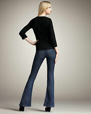 JOE'S SEXY VISIONAIRE MADELYN FLARED DARK WASH JEANS W 26 INSEAM 29