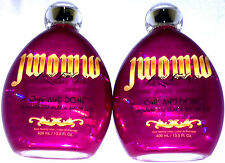 Lot of 2 Jwoww One And Done Black Bronzer Tanning Bed Lotion By Australian Gold