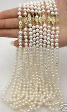 WHOLESALE 10PC 6-7MM WHITE AKOYA CULTURED PEARL NECKLACE 18""