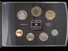 1998 CANADA MINT SPECIMEN SET IN ORIGINAL BOX WITH PAPERWORK - FREE USA SHIPPING