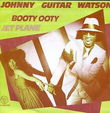 7inch JOHNNY GUITAR WATSON booty ooty  HOLLAND 1980 EX+