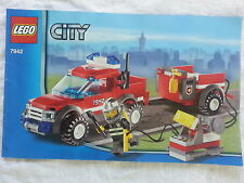 LEGO CITY 7942 Off-Road Fire Rescue complet