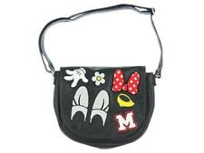 NWT Loungefly Minnie Mouse Patches Black Crossbody Bag