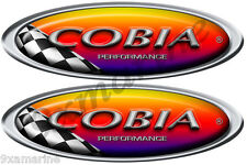 Two Cobia Racing Oval Decals