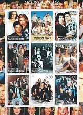 MELROSE PLACE CULT NINETIES SOAP OPERA TV SHOW MNH STAMP SHEETLET