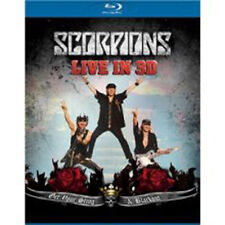 Scorpions - Get Your Sting And Blackout Live in 3D NEW Blu-Ray