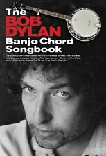 The Bob Dylan Banjo Chord Songbook Play Like a Rolling Stone FOLK Music Book