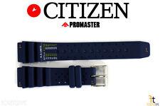 Citizen ND Limits BN0151-09L 20mm Blue Rubber Watch Band BN0151-17L BN0150-61E