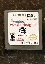 Nintendo DS Game- IMAGINE FASHION DESIGNER, and FREE SHIP