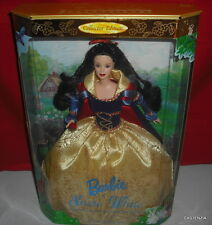 NRFB MATTEL BARBIE DOLL1998 DISNEY PRINCESS COLLECTOR EDITION SNOW WHITE NRFB